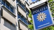 Das Gebäude des Landeskriminalamtes in Berlin, aufgenommen im  Mai 2017 – hier hat sich der antisemitische Schläger am Donnerstag gestellt.