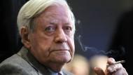 Die späte Beichte des Helmut Schmidt