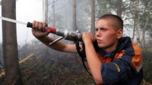 Immer weniger Waldbrände in Russland