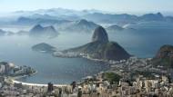 """Die """"wunderbare Stadt"""" mit Zuckerhut und Guanabara-Bucht: Schwangeren rät die brasilianische Regierung von einem Besuch Rios zu den Olympischen Spielen ab."""