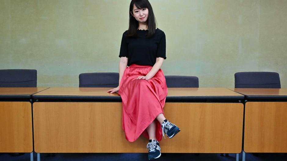 Yumi Ishikawa hat die KuToo-Bewegung in Japan begründet.