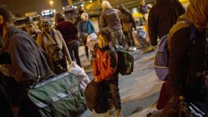 Zahl der Asylanträge in EU nimmt rapide ab