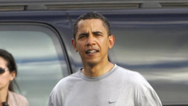 Die Brustwarzen des Präsidenten