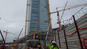 In Sankt Petersburg entsteht das höchste Gebäude Europas