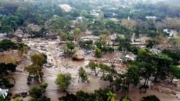 Noch 40 Vermisste nach Erdrutschen in Kalifornien