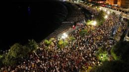 5000 Menschen feiern ohne Abstand in Nizza