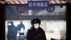 In Peking bleibt man am besten zu Hause