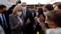 Brigitte Macron begibt sich in Quarantäne