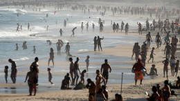 Strände von Rio öffnen erst wieder, wenn Impfstoff verfügbar ist