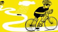 Jedes Jahr fährt er 16 000 Kilometer auf dem Rad