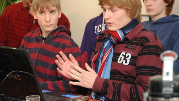 Schüler beraten Schüler im  Web