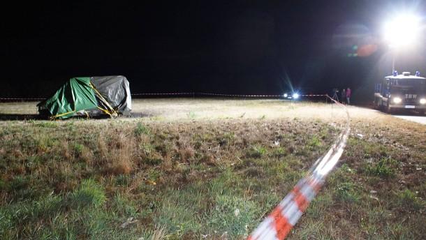 Zwei Tote in Wohnmobil gefunden