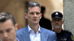 König Felipes Schwager muss ins Gefängnis