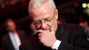 Neue Ermittlungen gegen den früheren VW-Chef