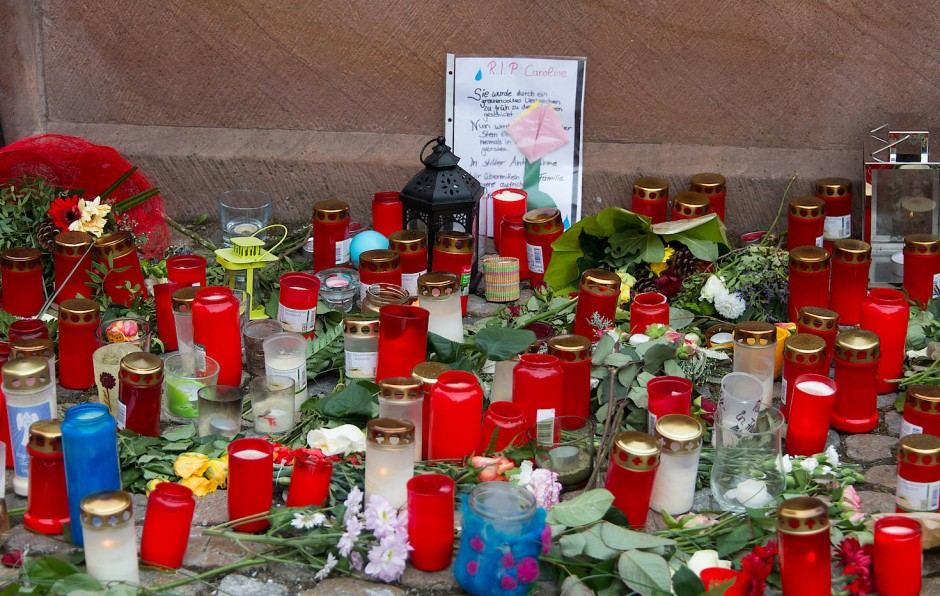 In Endingen gedenken die Menschen der ermordeten Joggerin Carolin G.