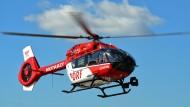 Einsatz: Nach dem Unfall auf der A3 nahe Camberg musste ein Rettungshubschrauber angefordert werden (Symbolbild)