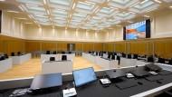 Vorgabe bei der Planung des neuen Gebäudes war, die Prozessführung mit möglichst wenig Justizpersonal sicherzustellen.