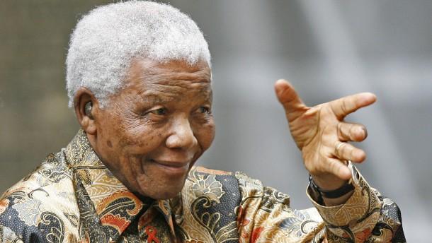 Nelson Mandela im Krankenhaus