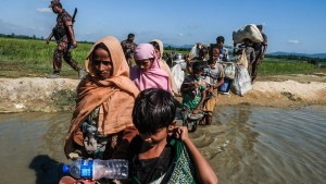 Anruf bei einem Rohingya
