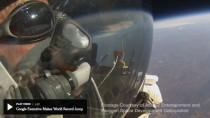 Über allen Wolken: Alan Eustace vor dem Sprung in die Tiefe