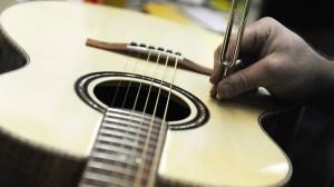 Die Leidenschaft für Musik und die Leidenschaft für das Arbeiten mit Holz konnte Meckbach miteinander verbinden.