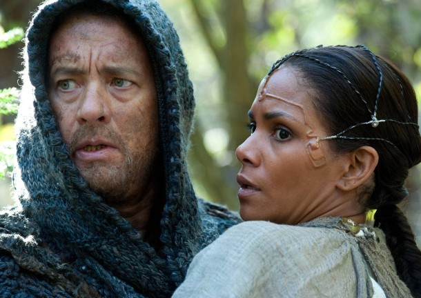 "Tom Hanks und Halle Berry im Film ""Cloud Atlas""."
