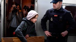 Greta Thunberg in Madrid eingetroffen