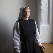 """""""Ich habe immer gedacht, das kann doch nicht alles gewesen sein"""": Schwester Pauline im Kloster Helfta."""