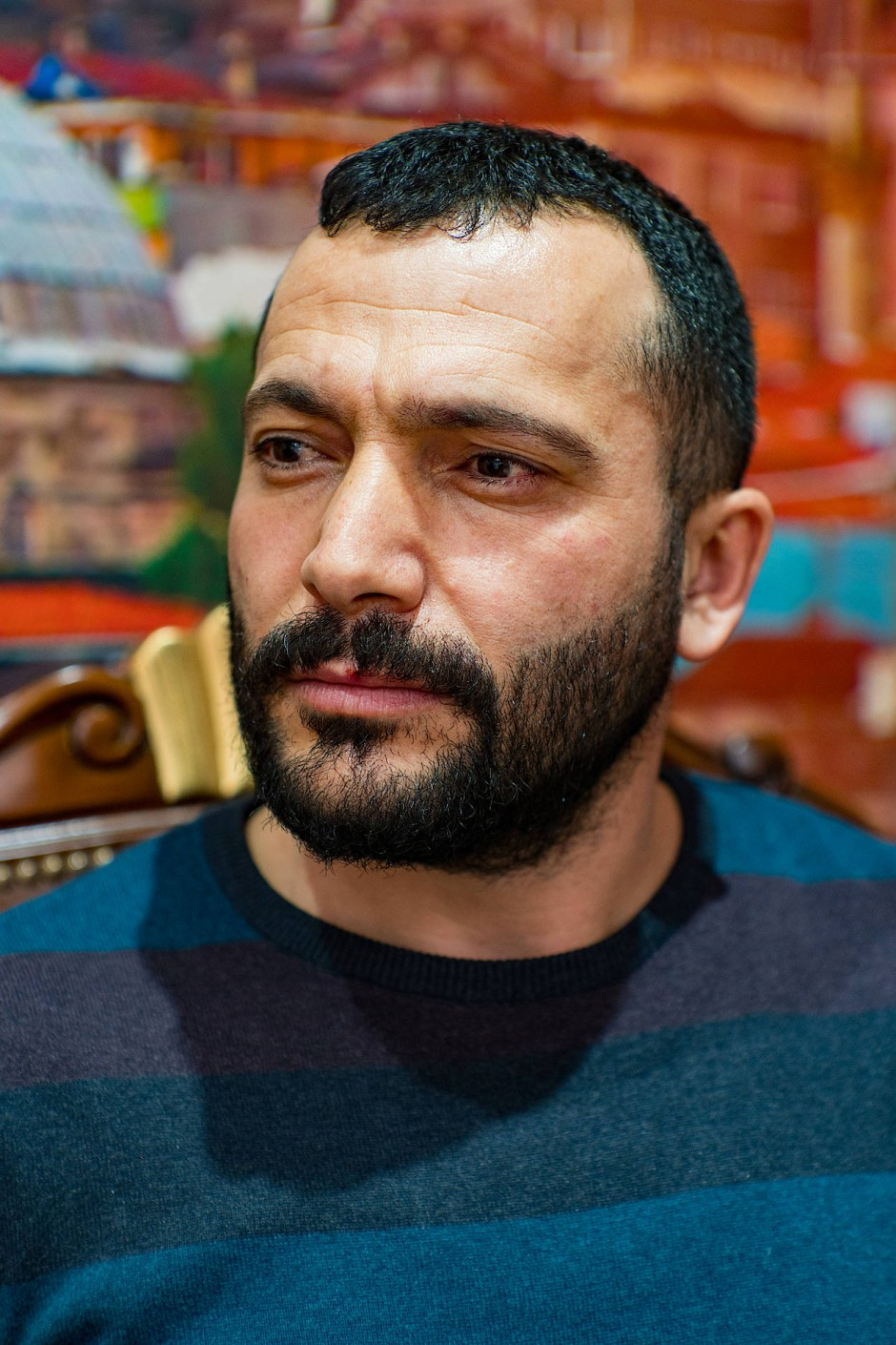 Yusuf Kilicaslan war noch nie in einer Disko. Wenn Erdogan Religion und Politik vermischt, findet er das gut.