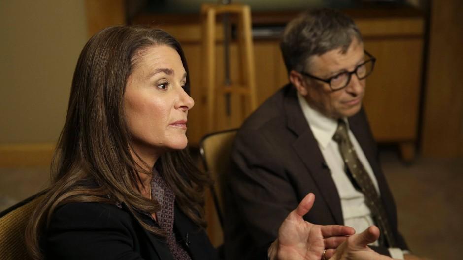 Hat nach 27 Jahren Ehe die Scheidung eingereicht: Melinda Gates mit ihrem Noch-Ehemann Bill
