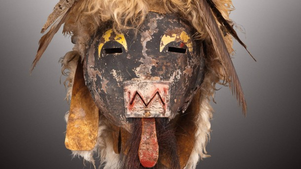 Katsinam Masks Auction Sale at Drouot Richelieu