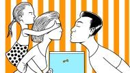 Meine Partnerin, ihr Kind und ich: Wenn eine Patchwork-Familie neu zusammenfindet, spielt Eifersucht oft eine große Rolle.