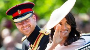 Harry und Meghan treten in Fußstapfen von Charles und Diana