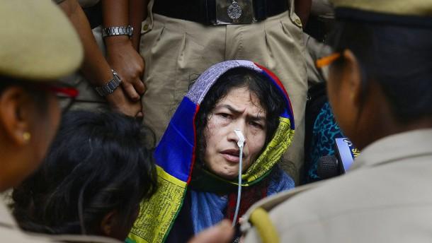 Inderin beendet längsten Hungerstreik der Menschheit