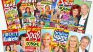 Woche für Woche verkündet uns die Yellow Press Neuigkeiten über Schlagerstars und Königsclans. Der Großteil der Nachrichten? Erfunden.