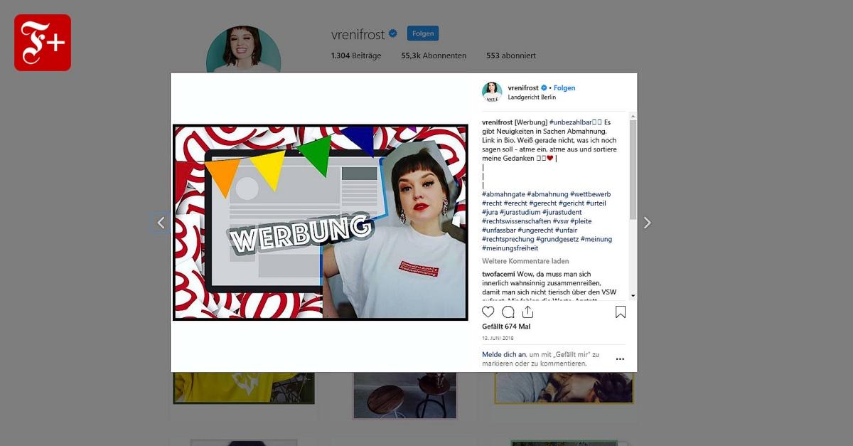 """ef92912e2 Verwirrung um Influencer-Marketing: """"Werbung, weil Marken verlinkt"""""""