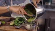 So schnell geht grünes Pesto