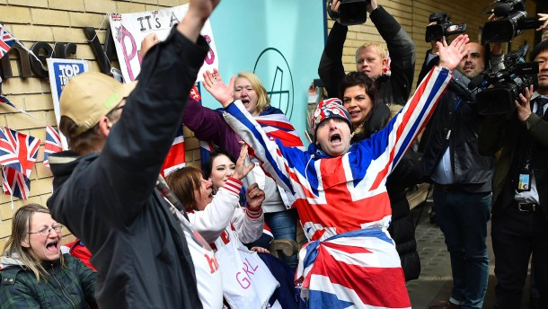 Ganz England jubelt
