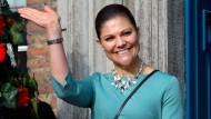Keine Tragzeit wie ein Elefant: Kronprinzessin Victoria von Schweden ist nun offiziell schwanger.