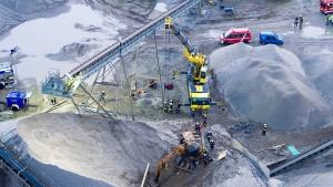 Zwei verschüttete Arbeiter sind tot