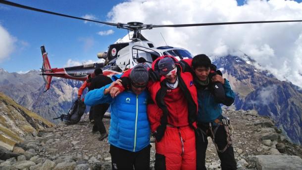Deutscher Bergsteiger im Himalaya getötet