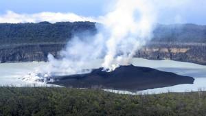 Insel wegen drohendem Vulkanausbruch komplett geräumt