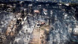 Anwohner löste Brandkatastrophe aus