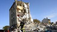 Explosion zerstört Wohnhaus