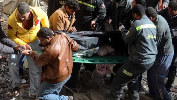 Dutzende Opfer in Ägypten befürchtet