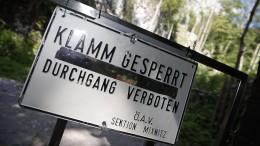 Drittes Todesopfer nach Felssturz in Österreich geborgen