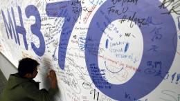 Neue Hoffnung für die verschollene MH370