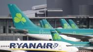 Brand legt Flughafen Dublin vorübergehend lahm