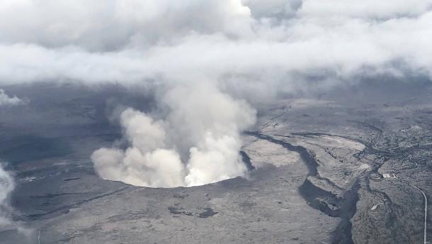 Aschewolke aus Hawaii jetzt 3500 Kilometer weiter auf Marshallinseln