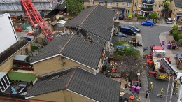 Umstürzender Baukran tötet in London einen Menschen